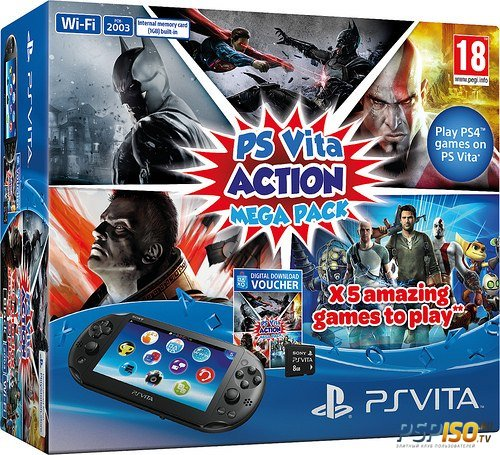 Новый бандл: PS Vita Action Mega Pack