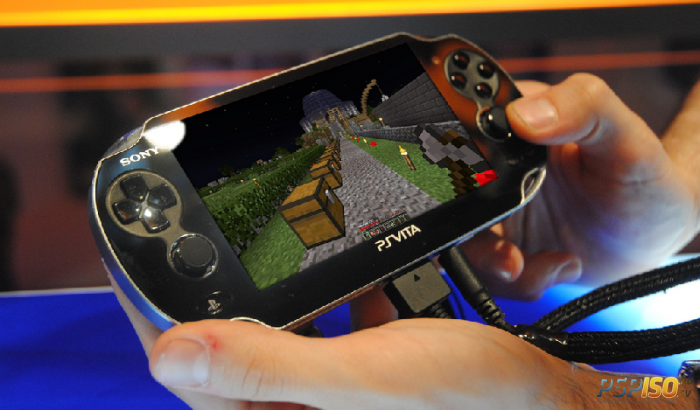 ������ �������� Minecraft PS Vita Edition