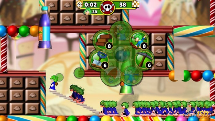 ����� ������� � ��������� Lemmings Touch