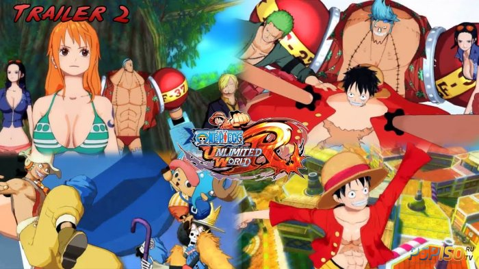 Новый трейлер One Piece: Unlimited World Red
