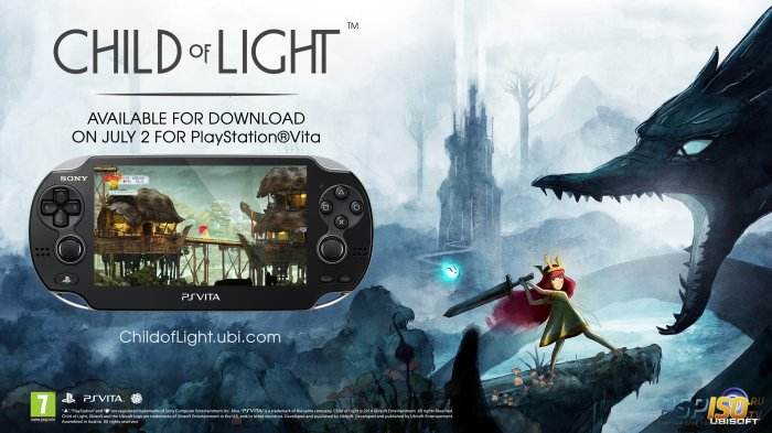 Child of Light выйдет на PS Vita