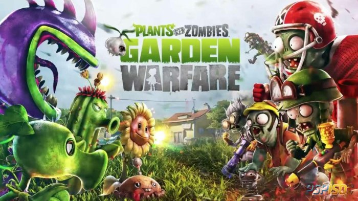 Plants vs. Zombies: Garden Warfare выйдет на PS3, PS4