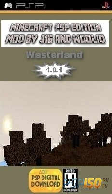 Minecraft PSP Edition - Wasterland v 1.0.1 [HomeBrew][2014]
