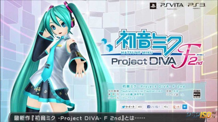E3 2014: Геймплей Hatsune Miku: Project DIVA F 2nd (PS Vita)