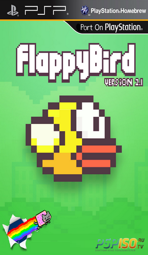 Flappy Bird PSP v2.1 [HomeBrew][2014]