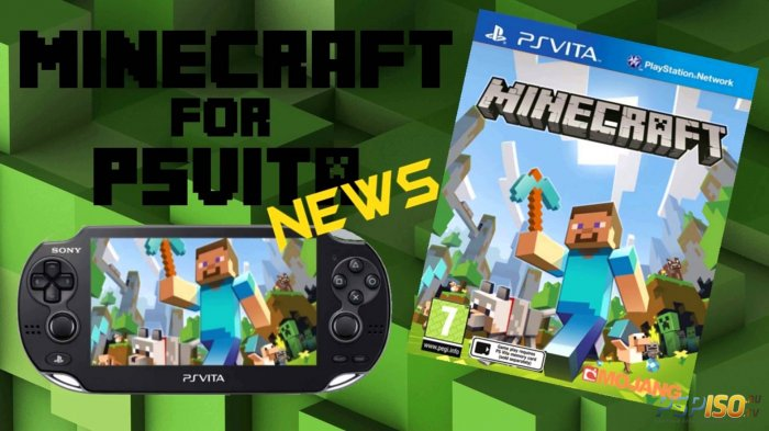 E3 2014: Геймплей Minecraft PS Vita Edition (PS Vita) UPDATE