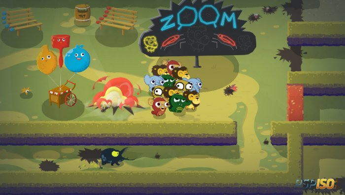 E3 2014: ГЕЙМПЛЕЙ Super Exploding Zoo (PS VITA)