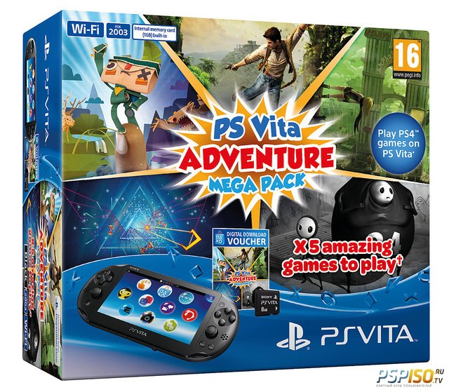Новый бандл PS Vita - Adventure Mega Pack