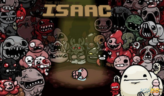 Первый запуск The Binding of isaac: Rebirth на PS4