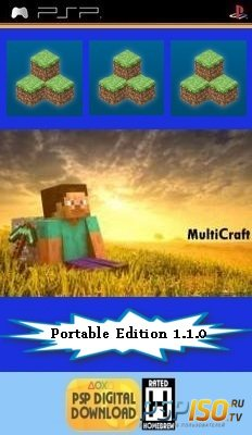 MultiCraft  Portable Edition v1.1.0 [HomeBrew][2014]