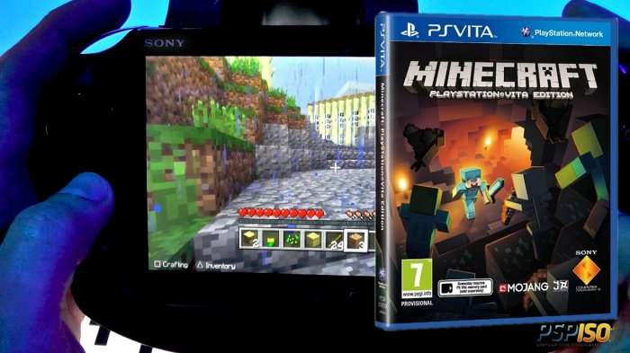 Minecraft: Playstation Vita Edition ������ ����� ��������� ������