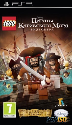 LEGO Pirates of the Caribbean: The Video Game [RUS][FULL][ISO][2011]