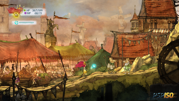 Child of Light для PS Vita