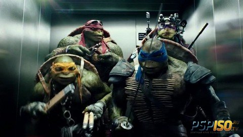 Черепашки-ниндзя / Teenage Mutant Ninja Turtles (2014) WEB-DLRip