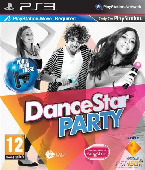 DanceStar Party для PS3