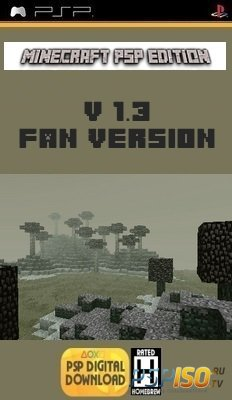 Minecraft PSP Edition v1.3.0 [Fan Version][HomeBrew][2015]