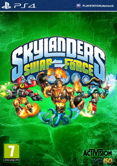 Skylanders SWAP Force для PS4