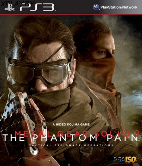 Metal Gear Solid 5(V): The Phantom Pain Day One Edition для PS3