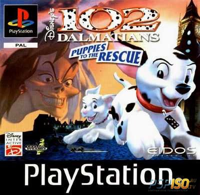 [PSX-PSP] 102 Dalmatians: Puppies to the Rescue [RUS][FULL][2000]