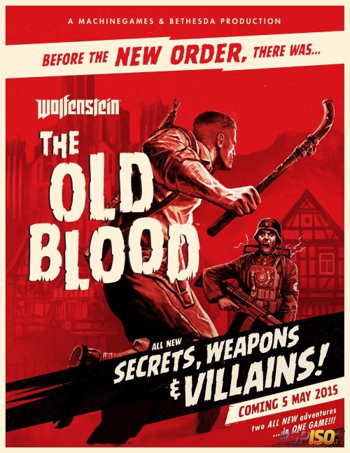 Wolfenstein: The Old Blood для PS4