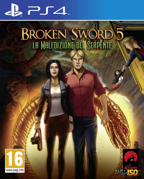 Broken Sword 5: The Serpent's Curse для PS4