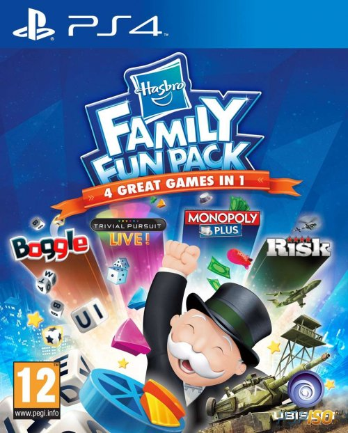 Husbro Family Fun Pack для PS4