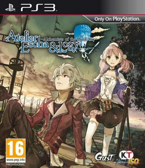 Atelier Escha & Logy: Alchemists of the Dusk Sky для PS3