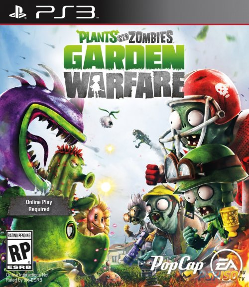 Plants vs. Zombies Garden Warfare для PS3