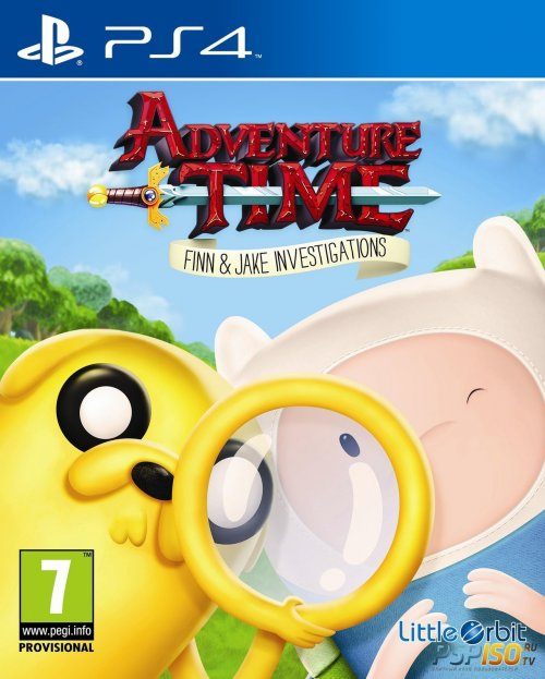 Adventure Time: ���� � ����� ����� ��������� ��� PS4