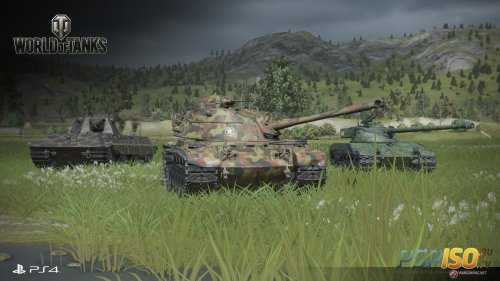 ����� ����! ��������� ���� ������ PS4-������ World of Tanks