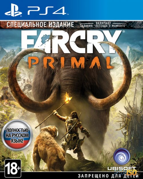 Far Cry Primal - ����������� ������� ��� PS4
