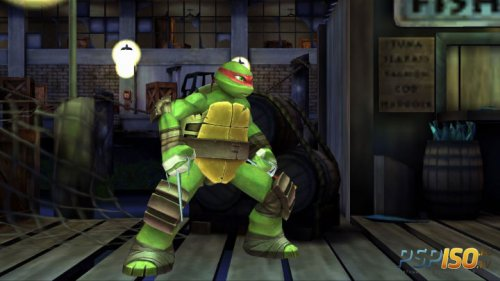 Teenage Mutant Ninja Turtles: Danger of the Ooze для PS3