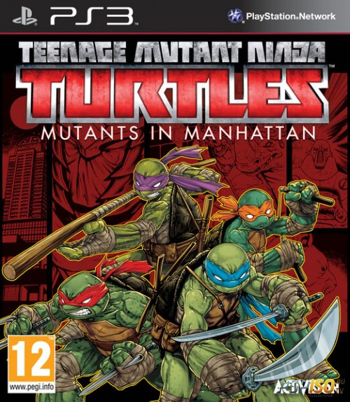Teenage Mutant Ninja Turtles: Mutants in Manhattan для PS3