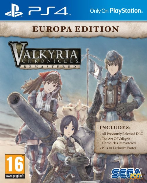 Valkyria Chronicles Remastered для PS4
