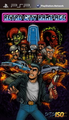 Retro City Rampage DX [ENG][ISO][2016]