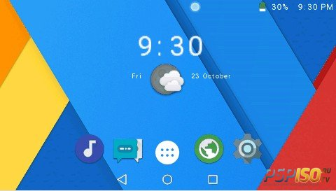 CyanogenPSP v6.1 + Icon Packs [HomeBrew][PSP][2016]