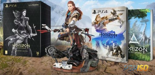 Анбоксинг «коллекционки» Horizon: Zero Dawn