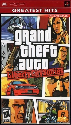 Grand Theft Auto Liberty City Stories [FULL][ISO][RUS Official][2005]