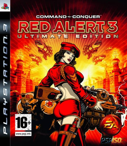 Command & Conquer: Red Alert 3 Ultimate Edition для PS3