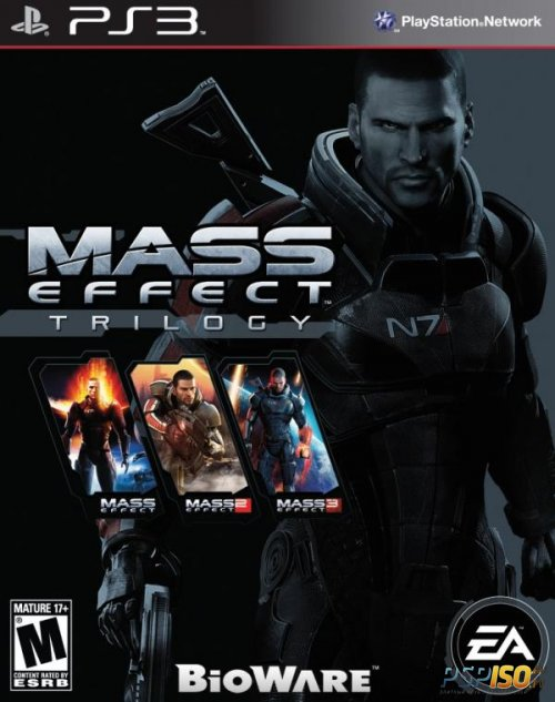 Mass Effect: Trilogy для PS3