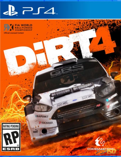 Dirt 4: First Day Edition для PS4