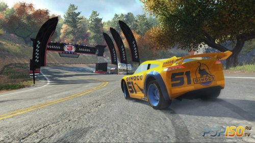 Cars 3: Driven to Win для PS4