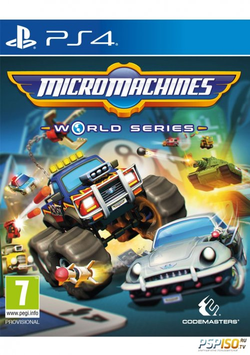 Micro Machines World Series для PS4