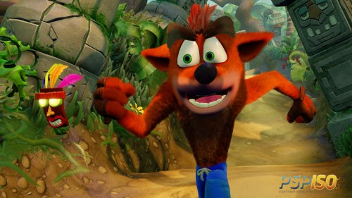 Crash Bandicoot N'sane Trilogy для PS4