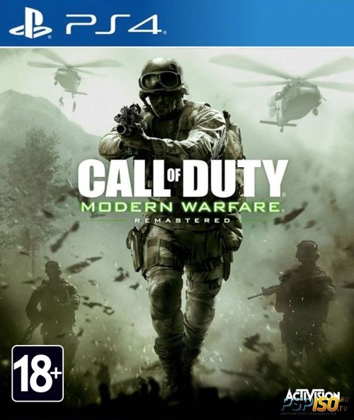 Call of Duty: Modern Warfare Remastered для PS4