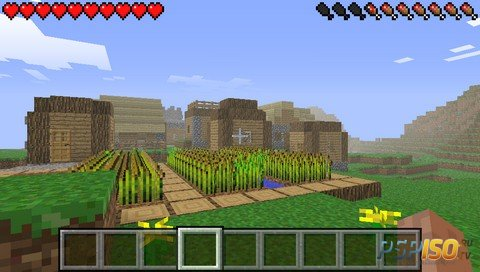 Minecraft PSP Edition v2.0.5 [FanVersion][HomeBrew][2017]
