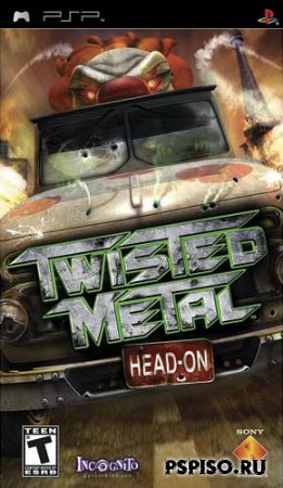 Twisted Metal Hand On [PSP][FULL][ENG]