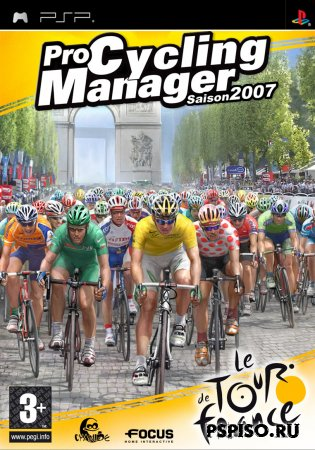 Pro Cycling Manager / Tour de France 2007 [PSP][FULL][ENG]