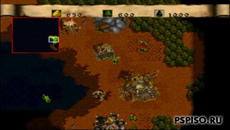 WarCraft II - The Dark Saga (RUS) [PSX]