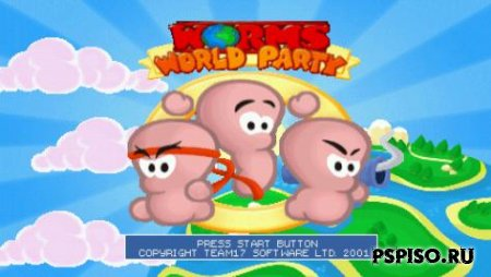 Worms World Party (RUS/ENG) [PSX]